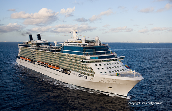 Celebrity Solstice - cruise vessel