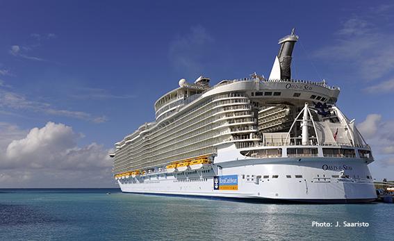 Oasis of the Seas - cruise vessel