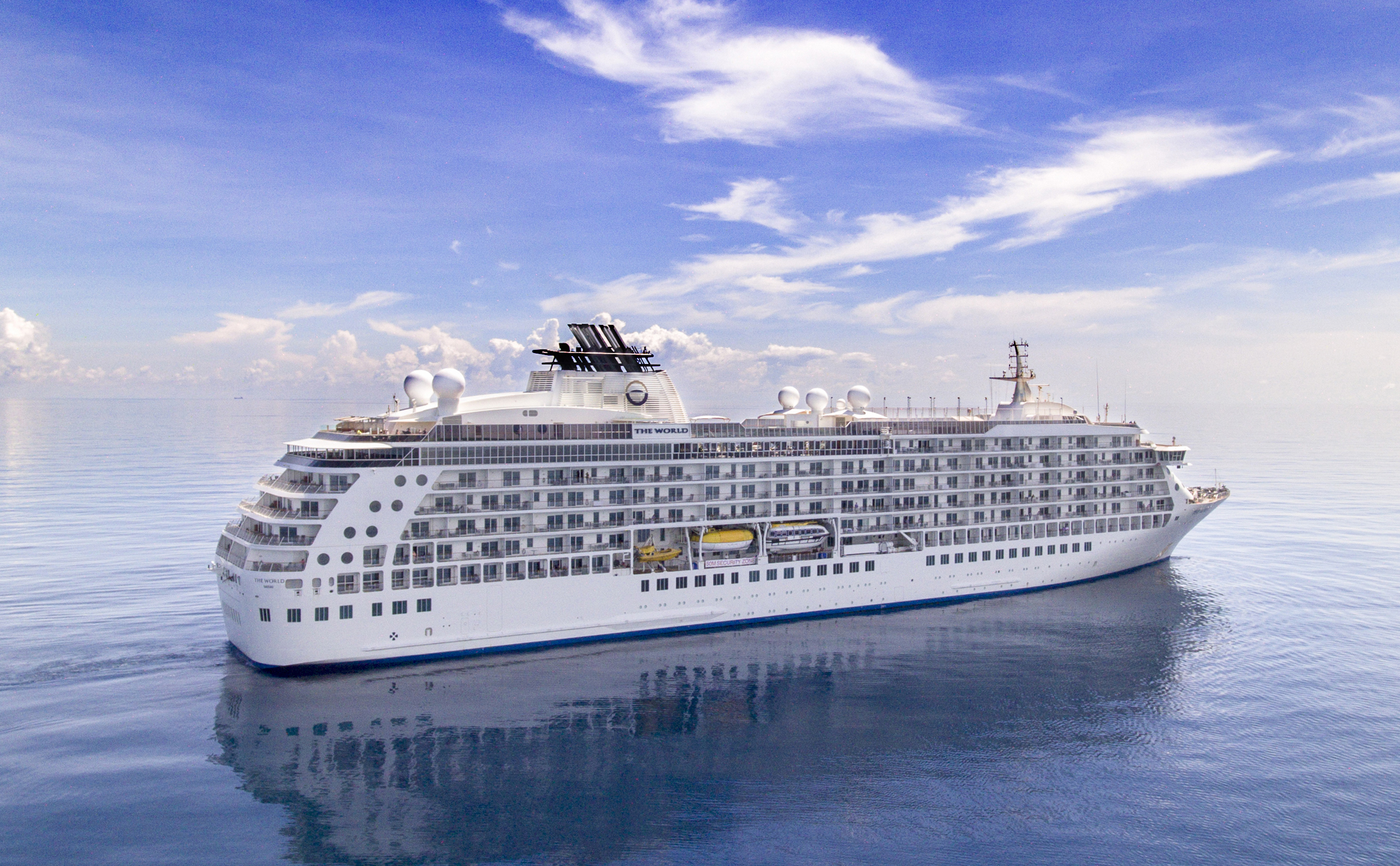 The World residential ship - credit The World