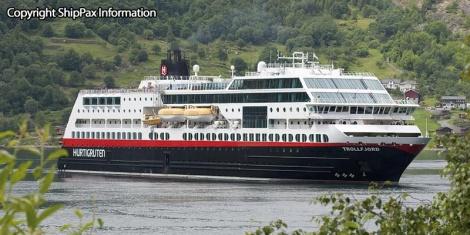 Trollfjord - passenger cruise ferry