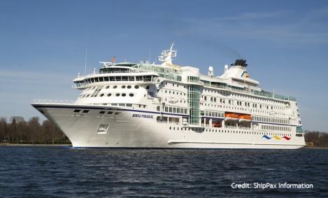 Birka Paradise - cruise vessel