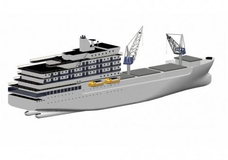 Passenger / lo-lo vessel