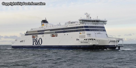 Spirit of Britain - ro-pax ferry for P&O Ferries