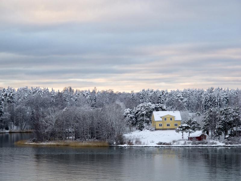 Talvipäivä saaristossa