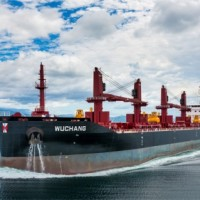 CNCo MV Wuchang bulk carrier based on Deltamarin's B.Delta37 design