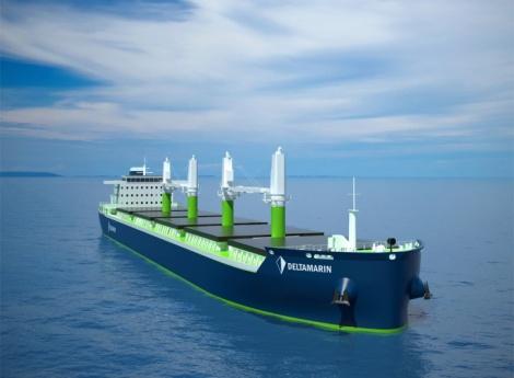 Deltamarin B.Delta bulk carrier