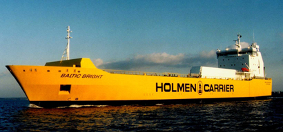 Baltic Bright - ro-ro carrier