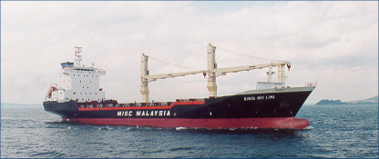 Bunga Mas Lime - container vessel