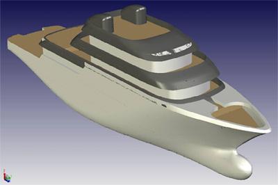 Explorer super yacht