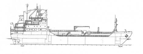 Arctic tanker