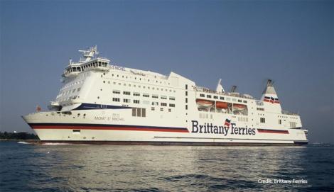 Mont St Michel - passenger ferry