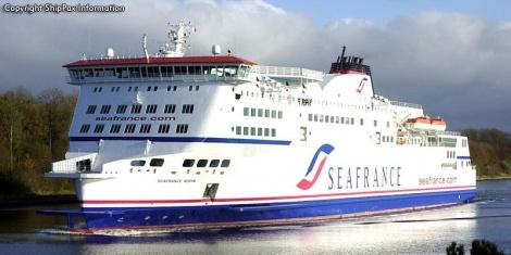 SeaFrance Rodin - ro-ro passenger ferry