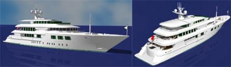 Yacht 65 m