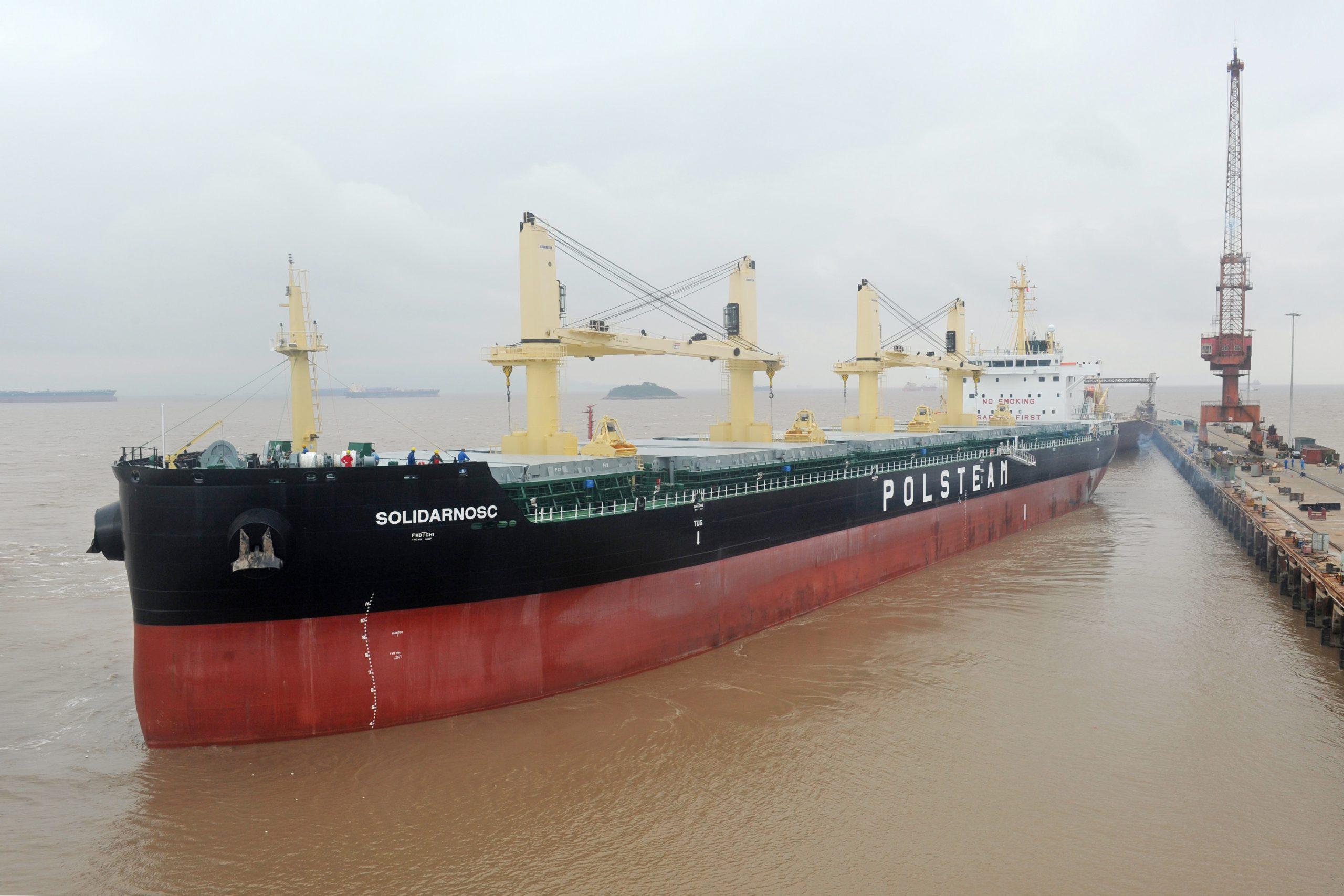 B.Delta Bulk Carrier for Polsteam - credit Polsteam