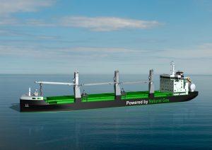 B.Delta26LNG bulk carriers for ESL Shipping