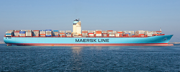Maersk container vessel_Deltamarin reference