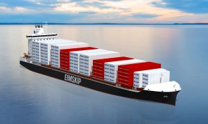 Eimskip &RAL 2,150 TEU container vessels based on Deltamarin's container feeder design