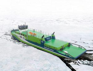 DeltaBreaker - a multipurpose vessel for inland waterways by Deltamarin