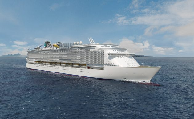 Global class mega passenger cruise ship