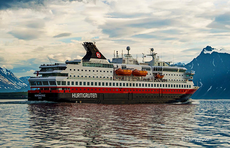 Hurtigruten Nordnorge coastal cruise ship conversion
