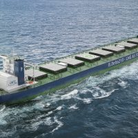 LNG-fuelled Newcastlemax bulk carrier