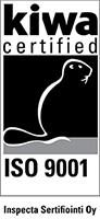 kiwa certified ISO 9001