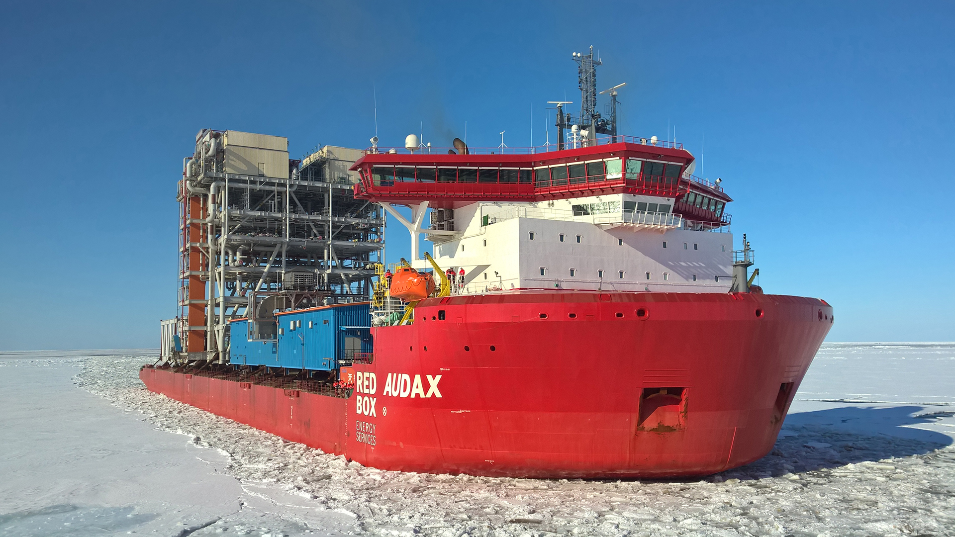 Audax module carrier - credit Aker Arctic Technology