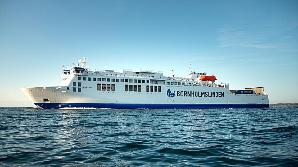 Hammershus ferry - credit Bornholmslinjen