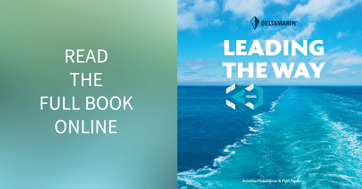 Deltamarin's 30th Anniversary Book - Leading the Way