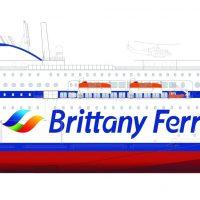Stena RoRo's E-Flexer no. 12 for Brittany Ferries - credit Stena RoRo