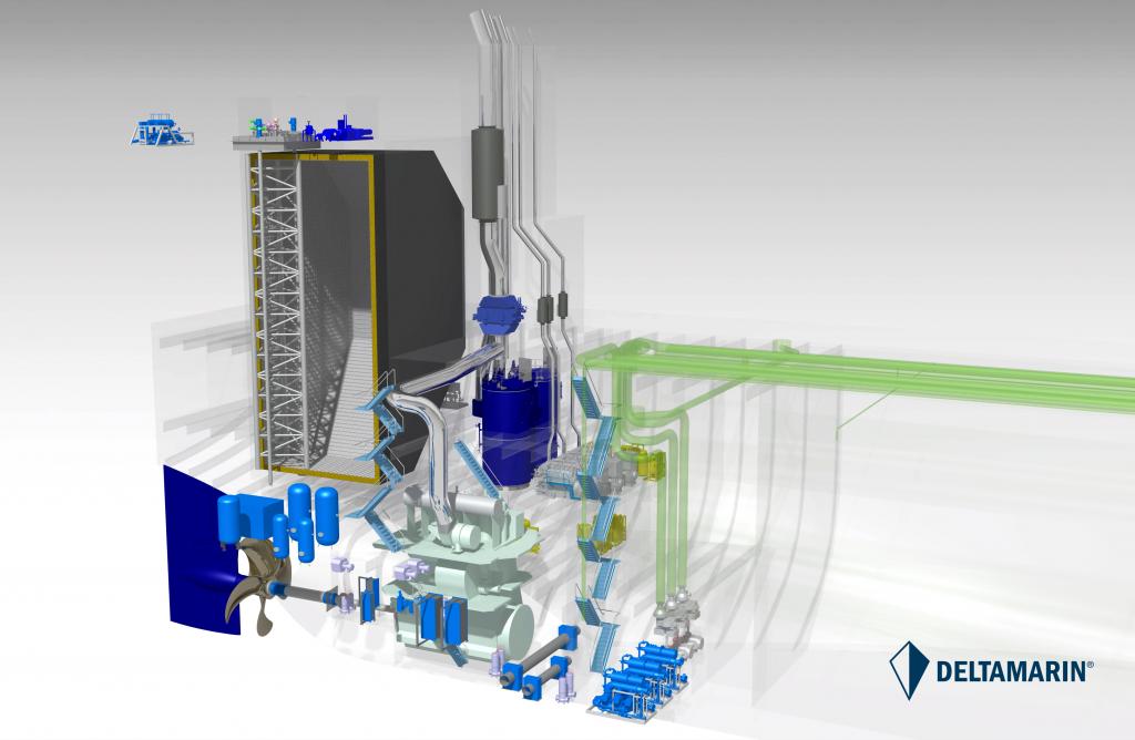 LNG fueled Aframax tanker design